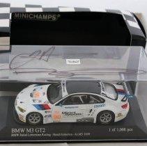 Image of Minichamps 1:43 scale BMW E92 M3 GT2 #90