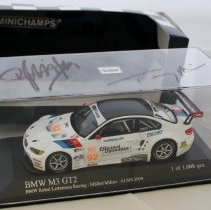 Image of Minichamps 1:43 scale BMW E92 M3 GT2 #92