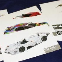 Image of Art Car postcards