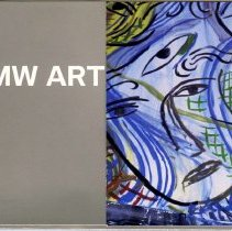 Image of BMW Art Car postcard set cover