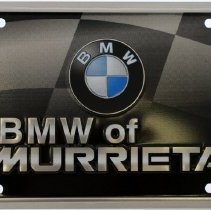 Image of BMW of Murrieta license plate