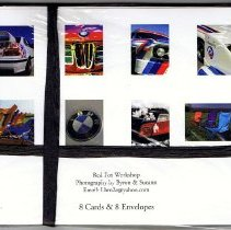 Image of M-pressions note card set back