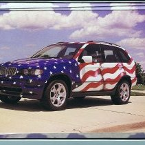 Image of BMW E53 X5 greeting card set