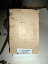 Image of Rainfall record book