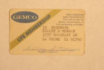 Image of Gemco Card