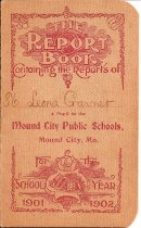 Image of Report Book 1901-1902