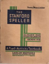 Image of Sixth Grade Spelling Book