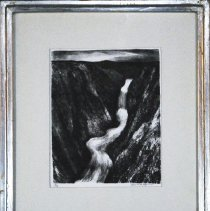 Image of Glannon, Edward - Canyon, framed by artist