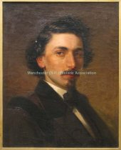 Image of Self portrait of Edward L. Custer - 0000.7296.001