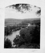 Image of Piscataquog River north west from Arcadia - PH 021-A