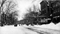 Image of 1888 Snow Storm, Elm Street looking north - PH 073-D