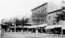 Image of Copy Photo Martin's Block, Elm Street. - 1868 - PH 304-A