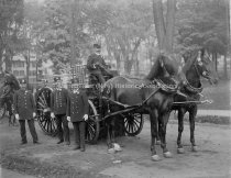 Image of Group Portrait Chemical Company No. 1 at Firemen's Muster - 1899. - PH 490