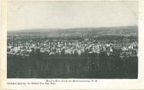 Image of Postcard, Bird's-Eye View of Manchester, N.H. - 1947.021.002-A