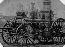 """Image of Steam Fire Engine """"The Daniel Webster"""" - 1948.057.033.9"""