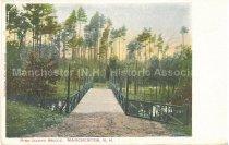 Image of Postcard, Pine Island Bridge, Manchester, N.H. - 1949.013.001-C