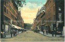 Image of Postcard, Hanover Street, Manchester, N.H. - 1949.070.001-F