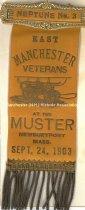 Image of Fireman's Muster Badge - East Manchester Veterans - Neptune No. 3, 1903  - 1949.076.003O
