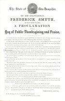 Image of Day of Thanksgiving and Praise Proclamation - 1949.126.001