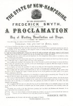 Image of Day of Fasting, Humiliation, and Prayer Proclamation - 1949.126.105