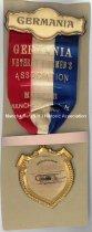 Image of Badge - Germania - Veteran Firemen's Association - 1903 - 1950.047.012