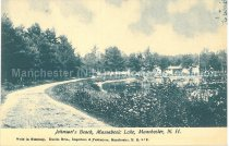 Image of Postcard, Johnson's Beach, Massabesic Lake, Manchester, N.H. - 1950.062.140