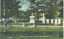 Image of Postcard, Grave of Gen. Stark, Manchester, N.H. - 1950.062.163