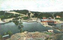 Image of Postcard, Kelleys Falls, Manchester, NH - 1950.062.165