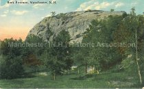 Image of Postcard, Rock Rimmon, Manchester, N.H. - 1950.079.044