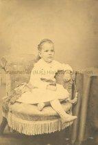 Image of Portrait of Elise D. Fairbanks as a child - 1950.079.069