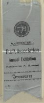 Image of Ribbon - P. and P. Association - Annual Exhibit, Manchester, NH - Treasurer - 1950.011.097