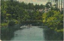 Image of Postcard, Scene at Pine Island Park, Goffs Falls, N.H. - 1952.045.014