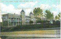 Image of Postcard, Notre Dame Hospital, Manchester, N.H. - 1952.045.026