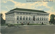 Image of Postcard, Carpenter Memorial Library, Manchester, NH - 1953.017.005