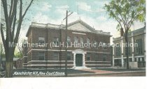 Image of Postcard, Manchester, NH, New Court House - 1953.017.008