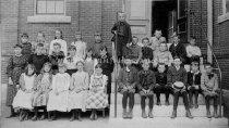 Image of Group Portrait—Lincoln School Children - 1892-1893 - 1955.004.001