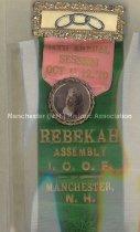 Image of Badge - 14th Annual Session - Rebekah Assembly I.O.O.F., 1910 - 1957.018.031
