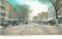 Image of Postcard, Elm Street Looking South, Manchester, N.H. - 1967.024.025