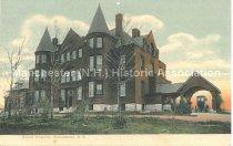 Image of Postcard, Elliott Hospital, Manchester, N.H. - 1967.025.028