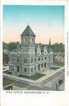 Image of Postcard, Post Office, Manchester, NH - 1967.049.001