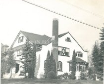 Image of Dr. and Mrs. Franklin Norwood Rogers House, Side View - 1969.034.008
