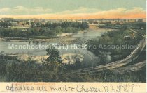 Image of Postcard, Bird's Eye View of Manchester, N. H. - 1969.050.010