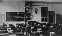 Image of Hesser Business College, 73-89 Hanover Street, Interior - January 21, 1905 - 1970.031.004.06