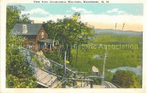 Image of Postcard, View from Uncanoonuc Mountain, Manchester, N.H. - 1970.033.009