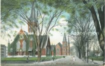 Image of Postcard, Union St., Manchester, NH - 1970.086.011