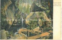 Image of Postcard, Devil's Pulpit, Pulpit Farm, Bedford, N.H. - 1970.086.038
