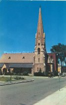 Image of Postcard, Grace Church, Manchester, NH - 1971.025.004