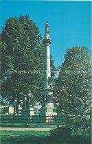 Image of Postcard, Civil War Memorial, Merrimack Common - 1971.046.005