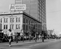 Image of Manchester Historic Association 75th Anniversary Parade - 1971. - 1972.003.016