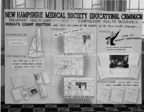 Image of New Hampshire Medical Society Meeting Educational Campaign Board - 1972.141.158